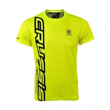 Men's Short Sleeve T-Shirt CRUSSIS Fluo-Yellow - Fluo Yellow