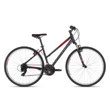"Women's Cross Bike KELLYS CLEA 10 28"" – 2018 - Black Red"