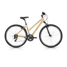"Women's Cross Bike KELLYS CLEA 30 28"" – 2017 - Coffee"