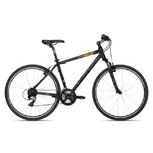 "Men's Cross Bike KELLYS CLIFF 30 28"" – 2018 - Black Orange"