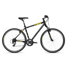 "Men's Cross Bike KELLYS CLIFF 30 28"" – 2018 - Black Yellow"