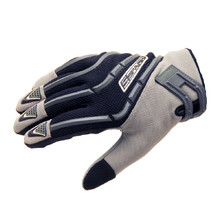 Moto gloves Spark Cross Textil - Grey