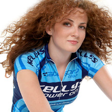 Lady's bike jersey KELLYS PRO LADY - Blue