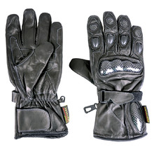 ROLEFF Motorcycle Gloves Hannover - Black