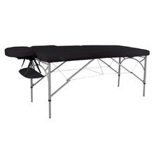 Massage Table inSPORTline Tamati 2-Piece Aluminium - Black