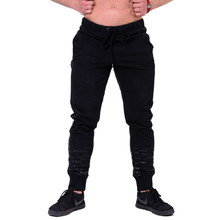Men's Sweatpants Nebbia Gym Hero Joggers 153 - Black