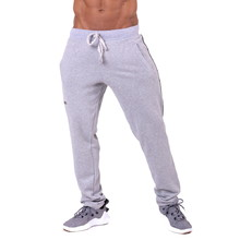 Men's Sweatpants Nebbia Side Stripe Retro Joggers 154 - Grey