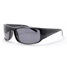 Polarized Sports Sunglasses Granite 8 - Black-Grey