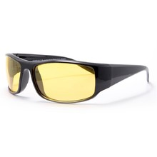 Polarized Sports Sunglasses Granite 8 - Black-Yellow
