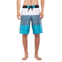 Men's Board Shorts Aqua Marina Division - Blue-White