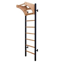 Wall Bars with Pull-Up Bar BenchK 211