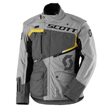 Motorcycle Jacket SCOTT Dualraid DP - Grey-Yellow