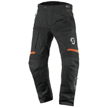 Motorcycle Pants SCOTT Dualraid DP - Black-Orange