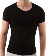 Men's Short Sleeved T-Shirt EcoBamboo - Black