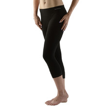 Unisex 3/4 Leggings EcoBamboo - Black