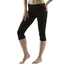 Women's Capri Leggings EcoBamboo - Black