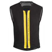 Children's Spine Protector/Vest Etape Junior Ride - Black-Yellow