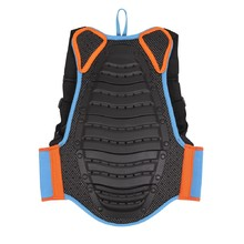 Childrens Back Protector Etape Junior Fit - Black-Blue