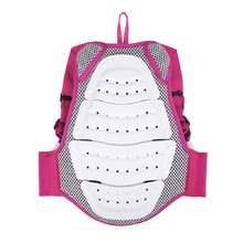 Childrens Back Protector Etape Junior Fit - White-Pink