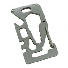 Multi-Purpose Card Tool Munkees Stainless
