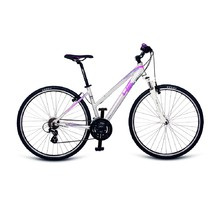 "Women's Cross Bike 4EVER Flame 28"" – 2017 - Silver-Violet"