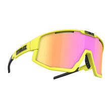 Sports Sunglasses Bliz Fusion 2021 - Matt Neon Yellow