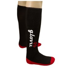 Heated Knee Socks Glovii GK2 - Black-Red