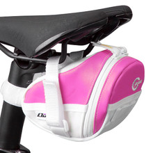 Bicycle Saddle Bag Crops Gina 02-S - Pink
