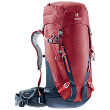 Climbing Backpack DEUTER Guide 35+ - Cranberry-Navy