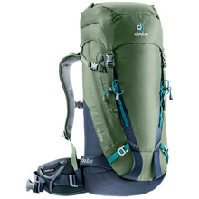 Climbing Backpack DEUTER Guide 35+ - Khaki-Navy