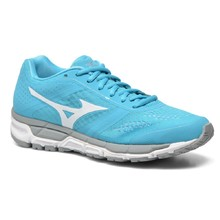 Women's Running Shoes Mizuno Synchro MX - Blue Atoll/White/Silver