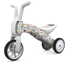 Children's Tricycle – Balance Bike 2in1 Chillafish Bunzi FAD - Catmouflage