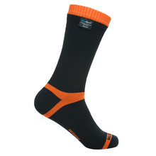 Waterproof Socks DexShell Hytherm PRO - Tangelo Red Stripe