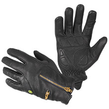 Women's Leather Motorcycle Gloves W-TEC Perchta
