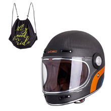 Motorcycle Helmet W-TEC Matt Carbon