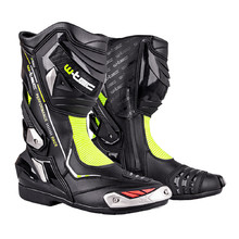 Motorcycle Boots W-TEC Beastor - Black-Green