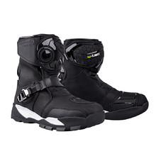 Motorcycle Boots W-TEC Grimster - Black