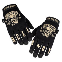 Motorcycle Gloves W-TEC Black Heart Rioter - Black