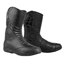 Motorcycle Boots W-TEC Districto - Black