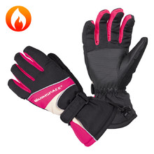 Heated Gloves W-TEC Boubin - Red