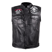Motorcycle Vest W-TEC Rumbler - Black