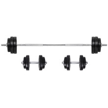 Loading Barbell & Dumbbell Set inSPORTline BS08 3-50kg