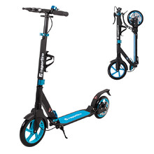 Folding Scooter inSPORTline Discola - Blue