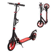 Folding Scooter inSPORTline Discola - Red
