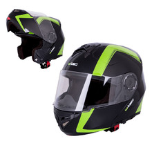 Motorcycle Helmet W-TEC Vexamo - Black-Green