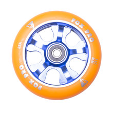 Spare Wheel for Scooter FOX PRO Raw 110 mm - Orange-Blue