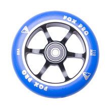 Spare Wheel for Scooter FOX PRO Raw 110 mm - Blue-Black II
