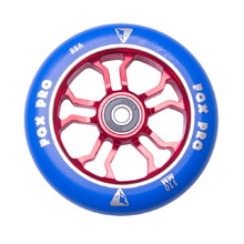 Spare Wheel for Scooter FOX PRO Raw 110 mm - Blue-Red