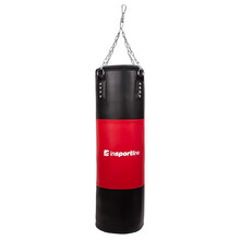 Adjustable Punching Bag inSPORTline 40-80kg - Black-Red