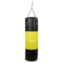 Filling box bag inSPORTline 50-100kg - Black-Yellow
